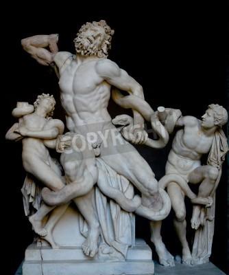 Картина Лаокоон и его сыновья, известный классический греческий статуя