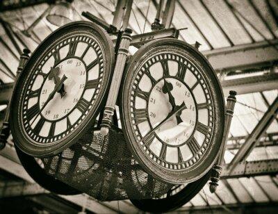 Картина Большие часы