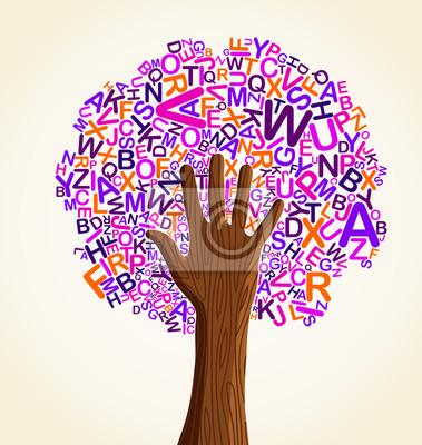 Учитесь читать на школьного образования концепции дерева