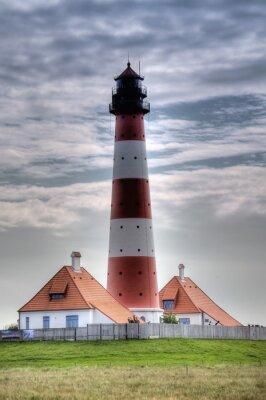 Картина Leuchtturm Westerheversand в Вестерхеферский