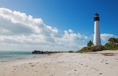 Картина Маяк на побережье