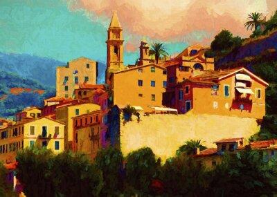 Картина Liguria landscape