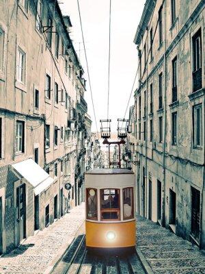 Картина Лиссабон - Велью Elevador Amarelo