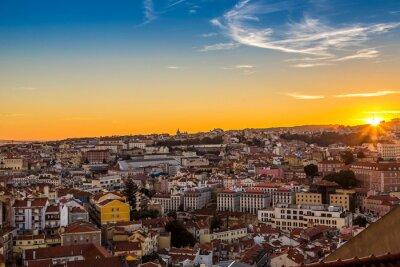 Картина Лиссабон в Nigth