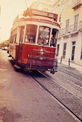 Картина Lisbonne (трамвай électrique)