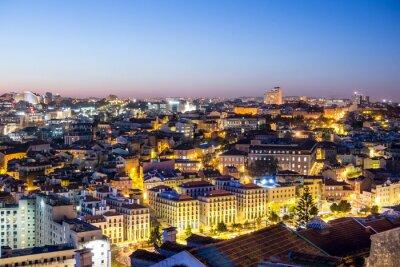 Картина Лиссабон в дер Dämmerung