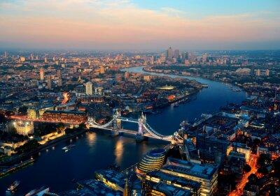 Картина Лондон ночью