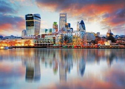 Картина Лондон горизонта