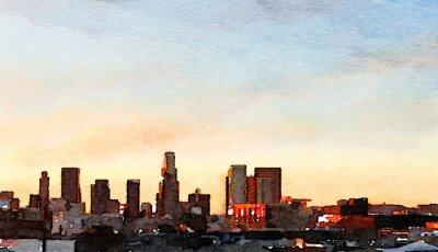 Картина Лос-Анджелес