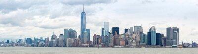 Картина Опустить Manhatta NYC Панорама