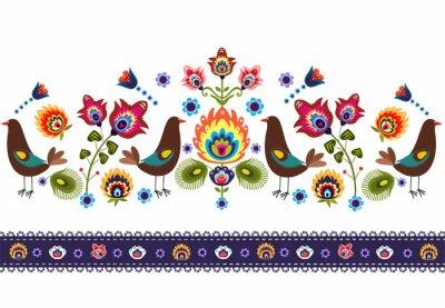 Картина ludowy Wzor г ptakami