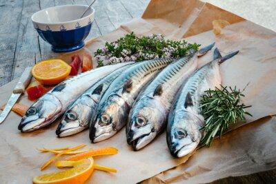 Картина mackerels