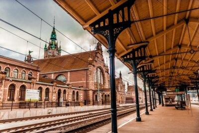 Картина Главный вокзал Гданьска