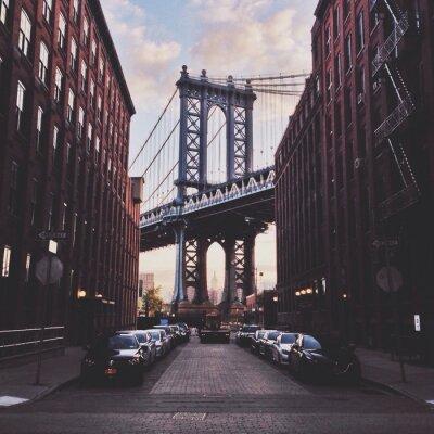 Картина Манхэттен мост