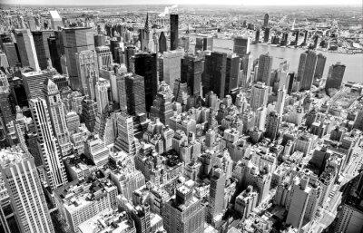 Картина Манхэттен, Нью-Йорк. США.