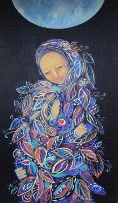 Картина Материнство.