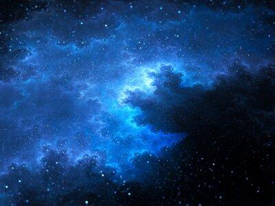 Картина Megical пространства Туманность фрактал со звездами