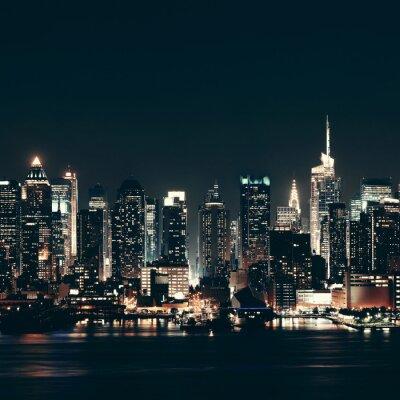 Картина Манхеттена горизонт