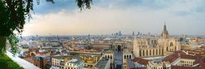 Картина Milano панорамное Centro