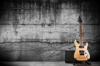 Картина Современные электрические гитары