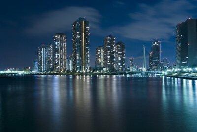 современный Токио ночью
