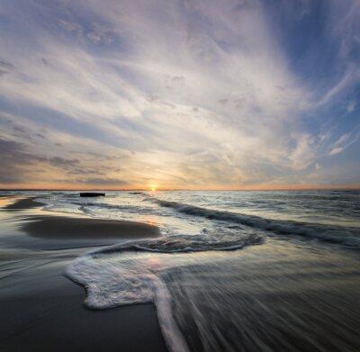 Картина Морски pejzaż, Fale rozbijające się о Morski Brzeg