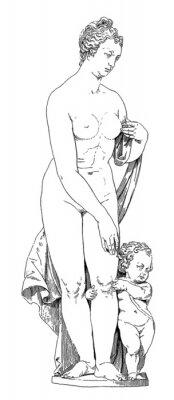 Картина Мать и по уходу за детьми