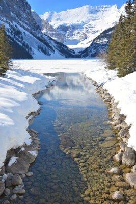 Картина Горы и реки
