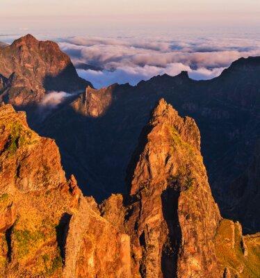 Картина Горы в Мадейре