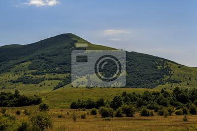 Картина Гора Велебита национальный парк и mountineer небеса