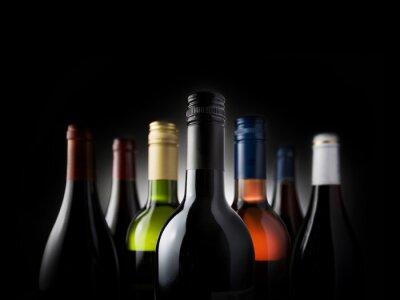 Картина мульти бутылки черные - Ключевые слова