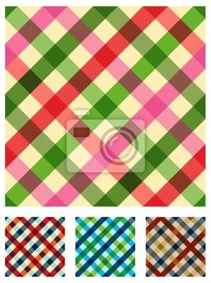 Разноцветные скатерть текстуры шаблон