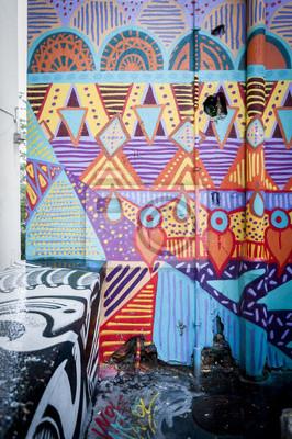 Картина Стена де граффити Colore