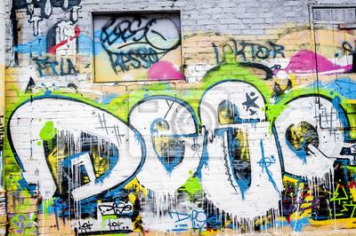 Картина Стена де Graffitis