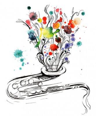 Картина музыка