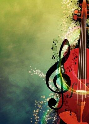 Картина Музыкальный фон