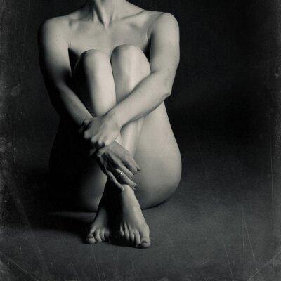 Картина Обнаженная женщина сидит