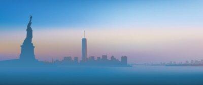 Картина Нью-Йорк - Aube
