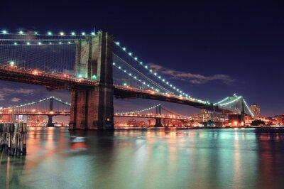 Картина Нью-Йорка Манхэттена