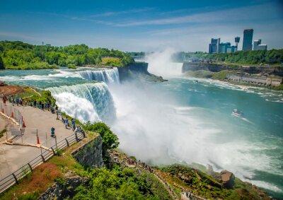 Картина Ниагарский водопад