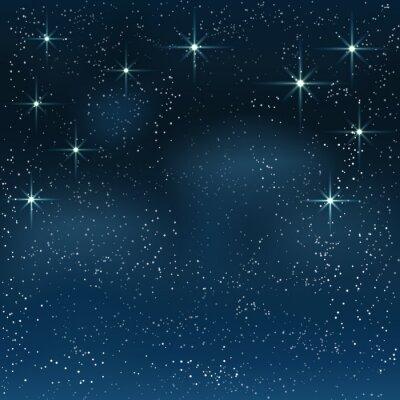 Картина Ночь звездное небо