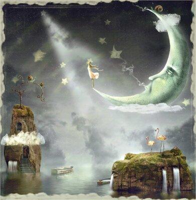 Картина Ночь. Время чудес и магии
