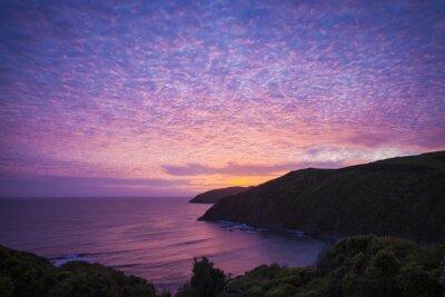 Картина Самородок точка Catlins Neuseeland ам Абенд