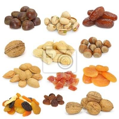 Орехи и сухофрукты коллекция