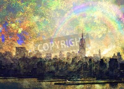 Картина Нью-Йорк
