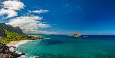 Картина Oahu восточное побережье вид пейзаж