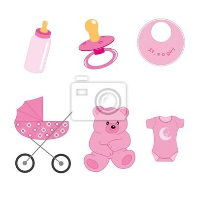 Objetos де bebé niña