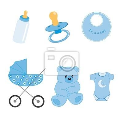 Objetos де bebé niño
