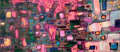 Картина Oil painting, abstract drawing, handmade