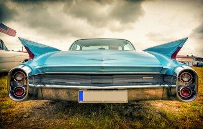 Картина Старый американский автомобиль в стиле винтаж